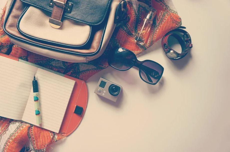 balení zavazadla