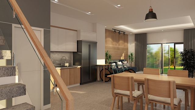 bydlení s prvky dřeva