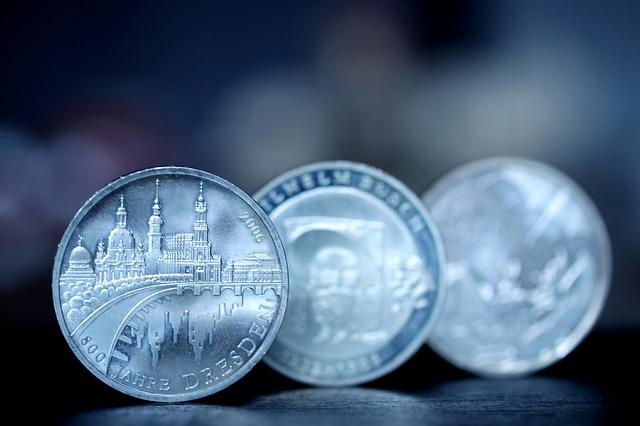 tři stříbrné mince, Drážďany.jpg